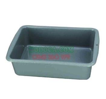 Khay nhựa chữ nhật dùng cho xe dọn vệ sinh bàn ăn AF08634