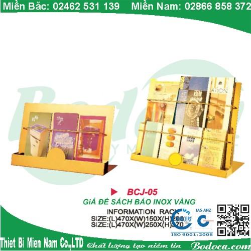 ke de sach bao inox bodoca BCJ 05