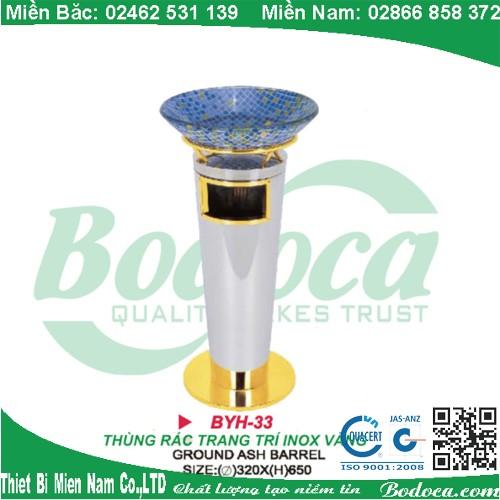 thung rac inox bodoca BYH 33