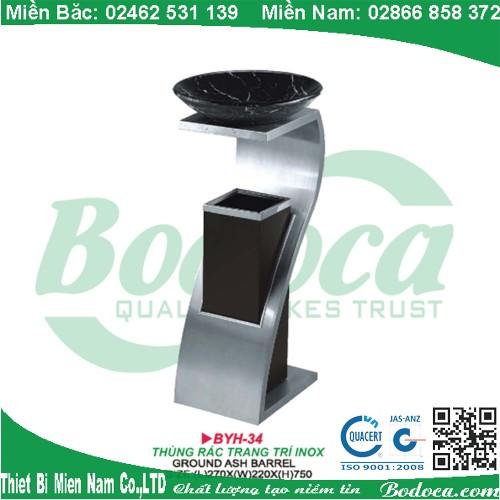 thung rac inox bodoca BYH 34