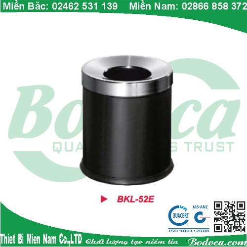 Thùng rác phun sơn tĩnh điện BKL-52E
