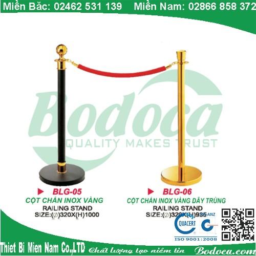 Cột chắn dây trùng mạ vàng sang trọng LG-01