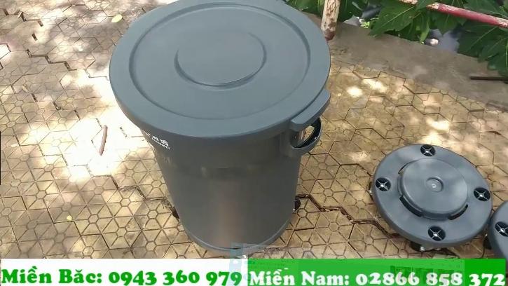 thùng rác 80l