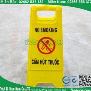 Biển báo cấm hút thuốc dùng cho siêu thị