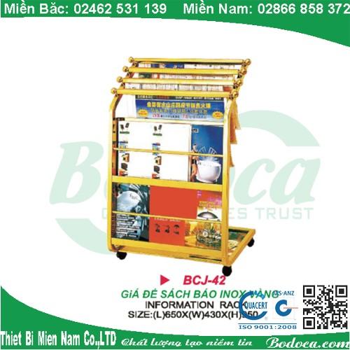 ke de sach bao inox bodoca BCJ 42 1