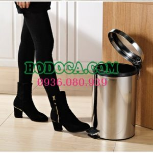 Bán thùng rác inox đạp chân 30L