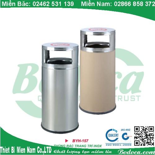 Thùng rác inox sang trọng BYH-157