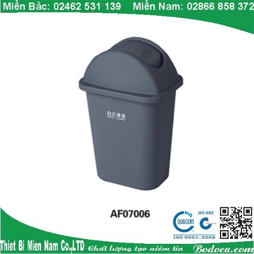 Thùng rác 35 lít nắp bập bênh AF07006