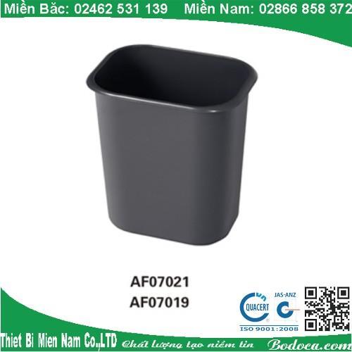 Thùng rác nhựa văn phòng AF07021
