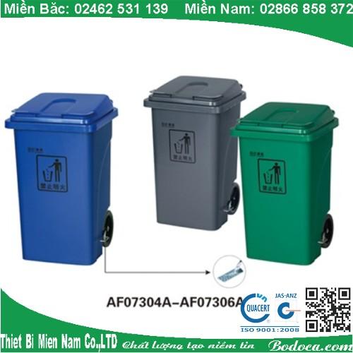 Thùng rác nhựa đạp chân mở nắp AF07304A