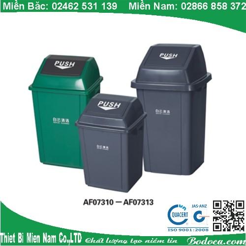 Thùng rác nắp bập bênh AF07313