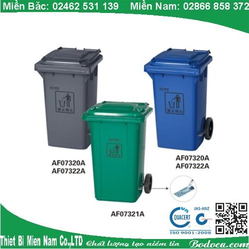 Thùng rác công nghiệp 120l AF07321