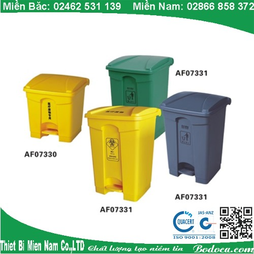 Thùng rác nhựa đạp chân 45 Lít