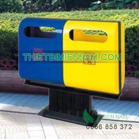 Cung cấp thùng rác 2 ngăn cho bệnh viện