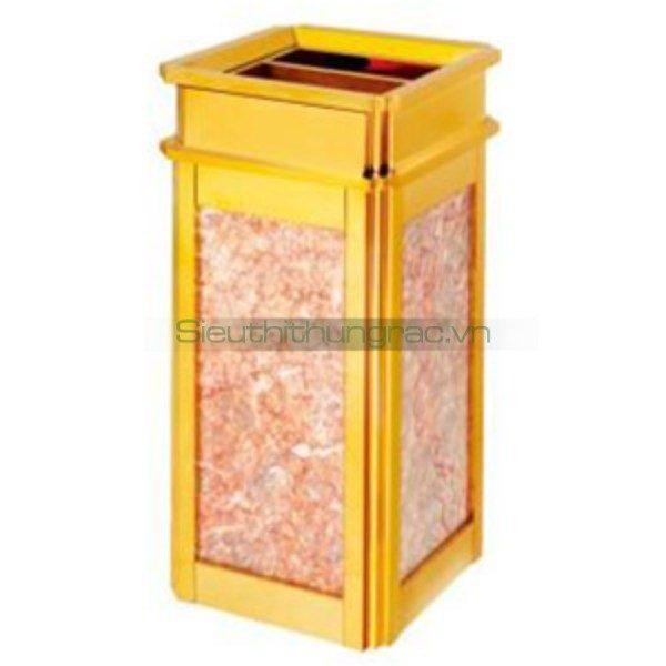 Cung cấp thùng rác đá hoa cương A1