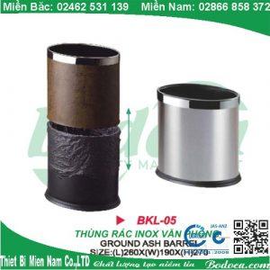Thùng rác inox văn phòng giá rẻ BKL-05A