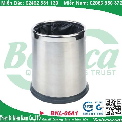 Thùng rác inox văn phòng BKL-06A1