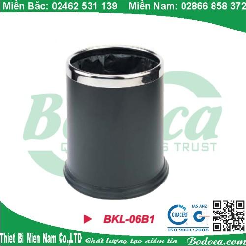 Thùng rác tròn phun sơn tĩnh điện BKL-06B1