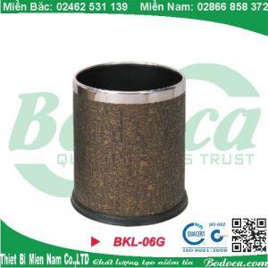 Mua thùng rác bọc da BKL-06G