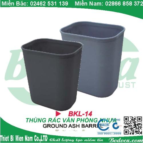 Thùng rác nhựa văn phòng đẹp BKL-14